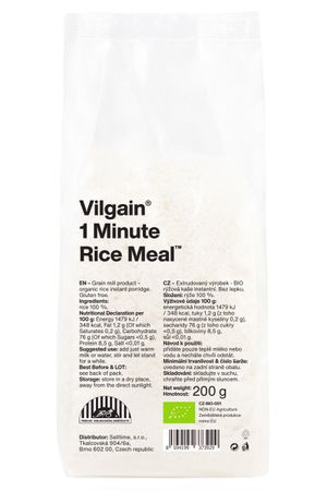 Organic 1 Minute Rice Meal