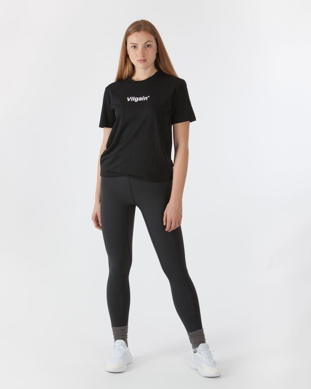 Logotype T-shirt - black